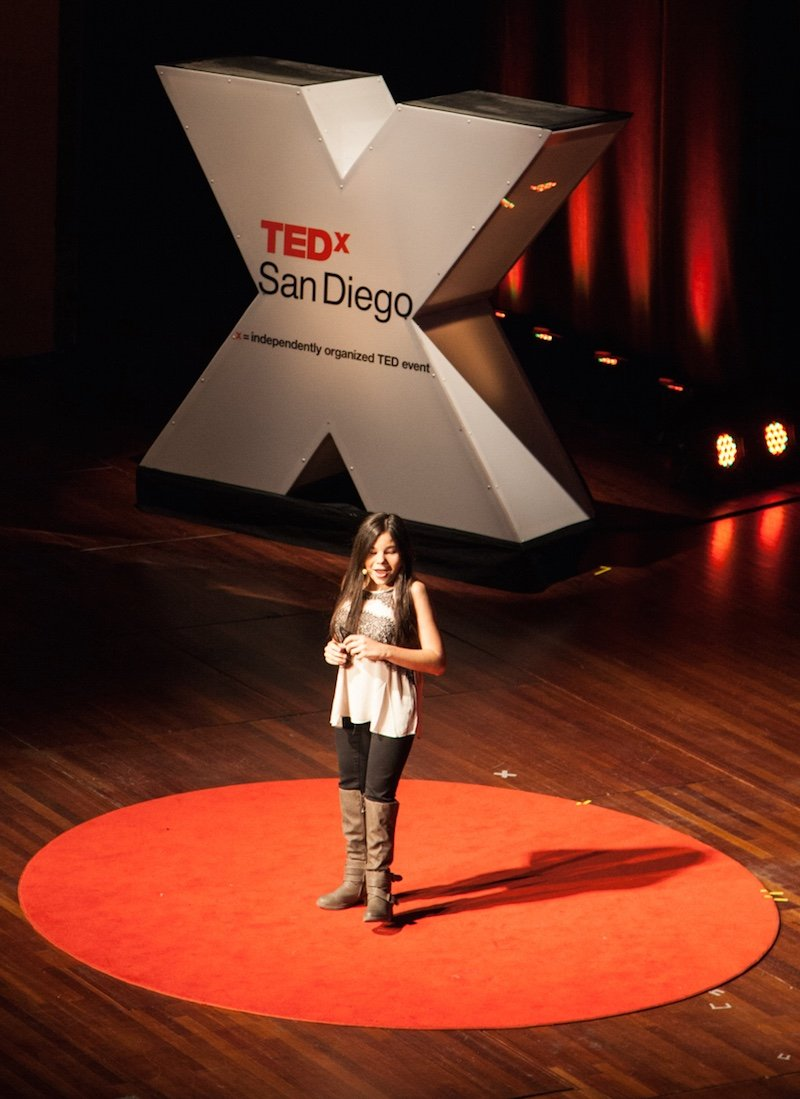 Gabi Ury at TEDxSanDiego 2014