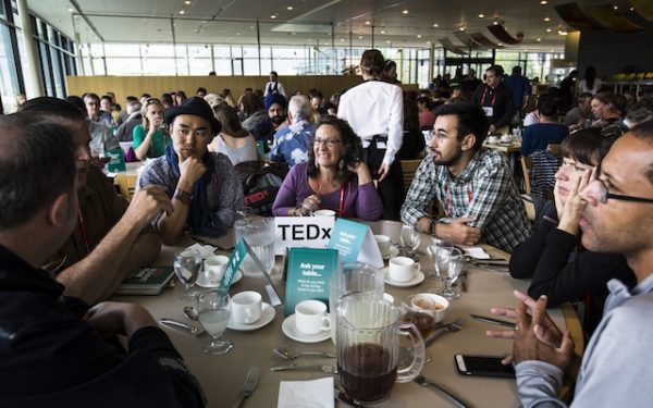 Lunch Discussion at TEDSummit 2016