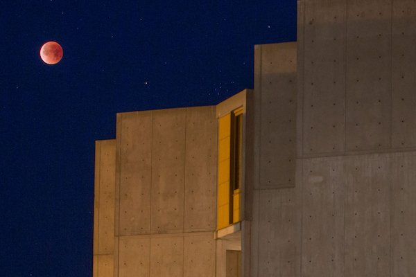 Salk Institute of Biological Studies at Night