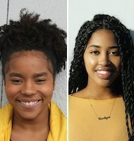 Tatiana Howell and Endiya Griffin at TEDxYouth@SanDiego 2019